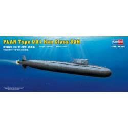 PLAN Type 091 Han class submarine. HOBBY BOSS 83512