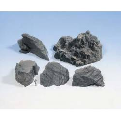 Trozos de roca.