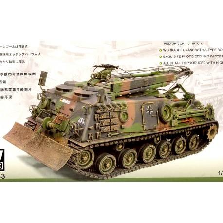 Bergepanzer M88A1G. AFV CLUB 35S33