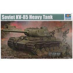 Soviet KV-85 Heavy tank. TRUMPETER 01569