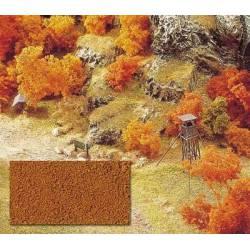 Micro flocking brown.
