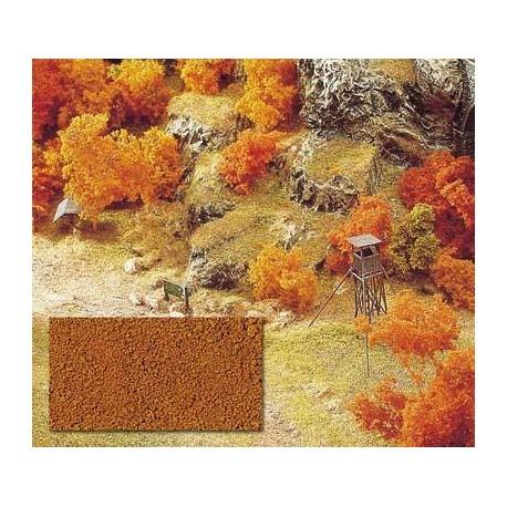 Flocado fino marrón seco. BUSCH 7325