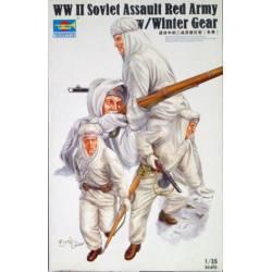 WWII Soviet Assault Red Army winter gear.