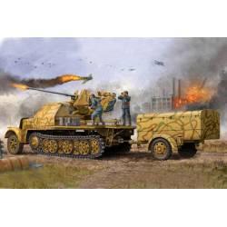 German 3.7cm Flak 37 auf Selbstfahrlafette. TRUMPETER 01526