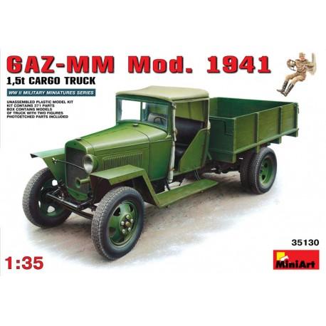 1.5t Cargo Truck GAZ-MM Mod.1941. MINIART 35130