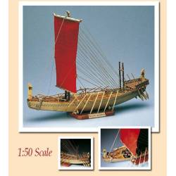 Egiyptian ship. AMATI MODELS 1403