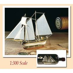 Hannah. Ship in a bottle. AMATI MODELS 1355