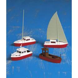 Assorted boats. KIBRI 39160