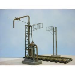 Pórtico para suministro de fuel. PN SUD MODELISME 8798