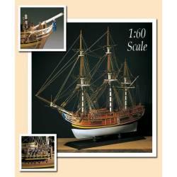 H.M.S. Bounty. AMATI MODELS 1432