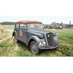1937 Olympia Staff Car (Cabriolet ). ACE 72505