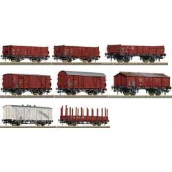 Set de vagones de mercancía, DB. ROCO 44002