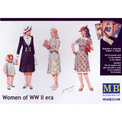 Women of WW II era. MASTER BOX 35148