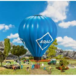 Hot air balloon with gas flame. FALLER 131001