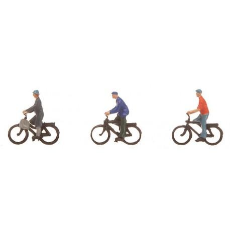Ciclistas. FALLER 155333