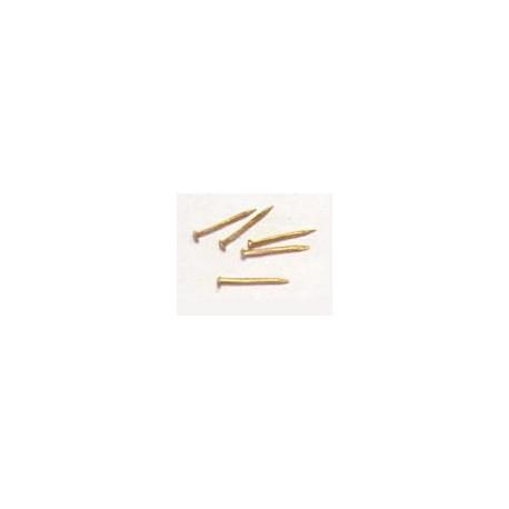 Clavos de latón - 12 mm. AMATI 4135/12