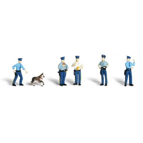 Policías. WOODLAND SCENICS A1822