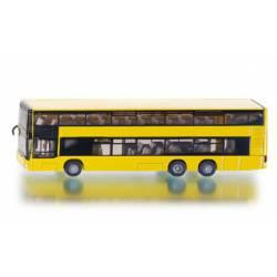 MAN doubledecker public service bus.