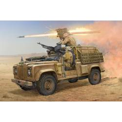 Land Rover WMIK with Milan ATGM. HOBBY BOSS 82447