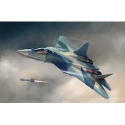 Russian T-50 PAK-FA. HOBBY BOSS 87257