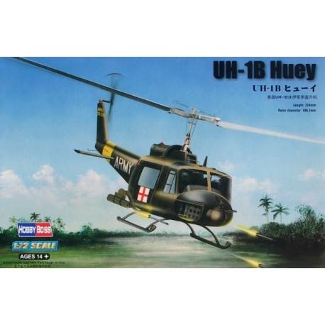 UN-1B Huey. HOBBY BOSS 87228