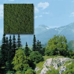 Follaje verde para crear árboles.