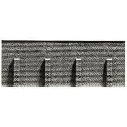 Muro con pilares. NOCH 34857