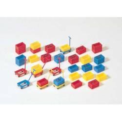 Plastic boxes. PREISER 17113