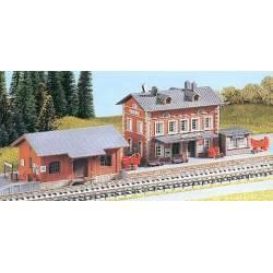 """Estación de tren de """"Rauenstein""""."""