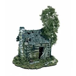 Caseta abandonada. WOODLAND SCENICS M101