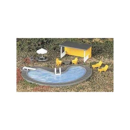 Piscina y accesorios. BACHMANN 42215