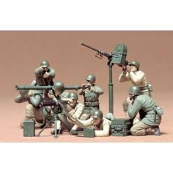 Equipo de mortero y lanzagranadas. TAMIYA 35086