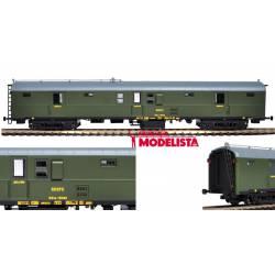 Luggage wagon DDce-5024, RENFE. MABAR 85004