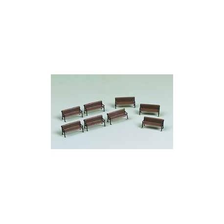 8 benches. AUHAGEN 41199