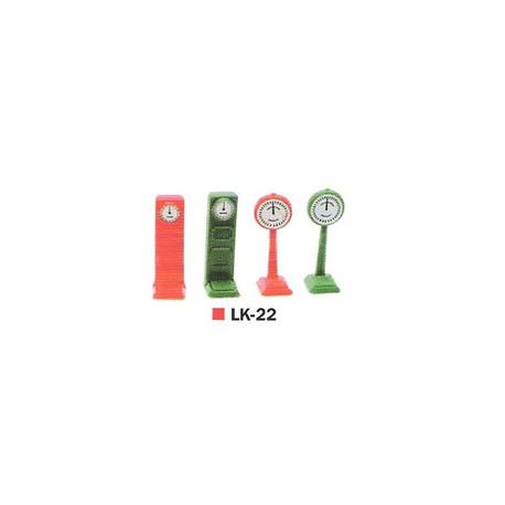 4 básculas de estación. PECO LK-22
