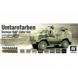 German ISAF color set. VALLEJO 71159