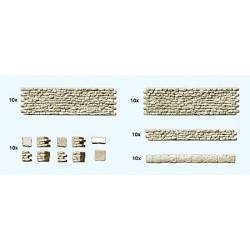 Muro de piedra. PREISER 18215
