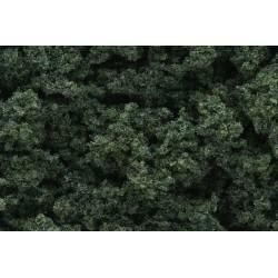 Flocado verde oscuro. WOODLAND FC184