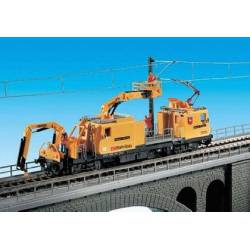 Overhead catenary maintenance vehicle. KIBRI 16082
