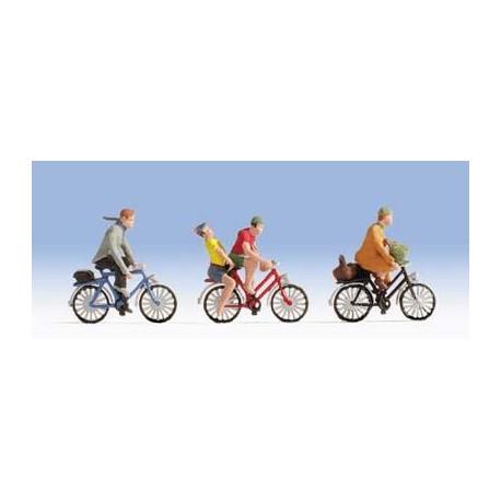 Ciclistas. NOCH 15898