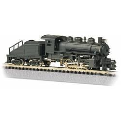 Locomotora vapor USRA 0-6-0, sin decoración. BACHMANN 50598
