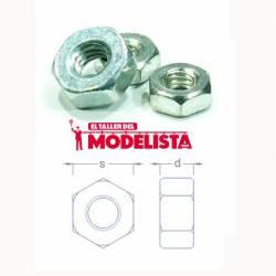 Steel bolts, M3 thread (x20). RB 037-30