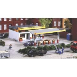 Shell Petrol Station.