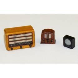 Old radios.