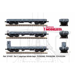 3-set wagons series MM, RENFE.