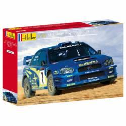 Subaru Impreza WRC 03. Cyprus Rally. HELLER 80750