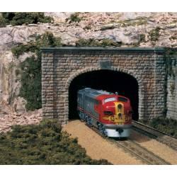 Boca de túnel, vía doble. WOODLAND C1157