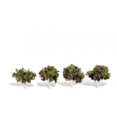 4 árboles. WOODLAND TR3533