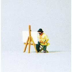 Pintor pintando un cuadro. PREISER 28050