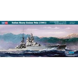 Italian Heavy Cruiser Pola (1941). HOBBY BOSS 86502